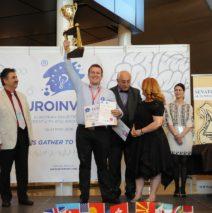 Razvan Marcus, castigatorul marelui premiu la EUROINVENT